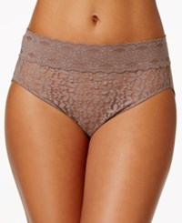 Wacoal Halo Sheer Lace High Cut Brief 870305