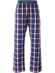 Diesel Checked Pyjama Pants Multicolour