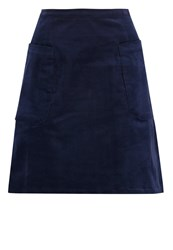 Louche Georgina Aline Skirt Navy Dark Blue