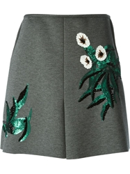 Marni Sequin Detail Skirt Grey