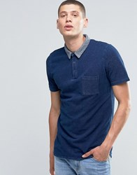Another Influence Polo Shirt Blue