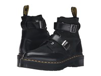 Dr. Martens Masha Creeper Boot Black Polished Smooth Women's Lace Up Boots