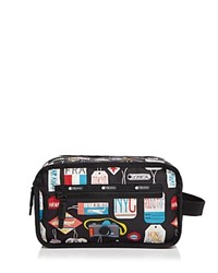 Le Sport Sac Lesportsac Carryall Kit Travel Pouch Boarding Pass