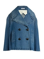 J.W.Anderson Oversized Double Breasted Denim Jacket