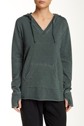 Central Park West The Super Exley Hoodie Green