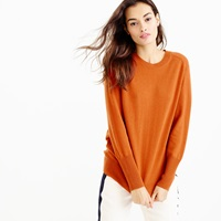 J.Crew Collection Relaxed Cashmere Pullover Sweater