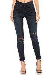 J Brand Maria High Rise Skinny Destructed Sanctity