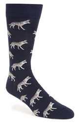 Hot Sox Men's 'Wolf' Socks
