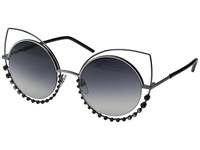 Marc Jacobs 16 S Dark Ruthenium Dark Grey Gradient Fashion Sunglasses Black