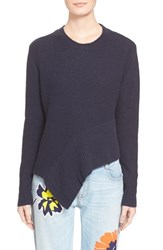 Women's Stella Mccartney Asymmetrical Cashmere And Silk Sweater
