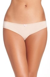 Betsey Johnson Women's Hipster Bikini Briefs Sand