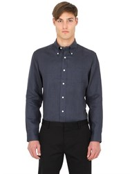 Brooks Brothers Extra Slim Button Down Linen Shirt