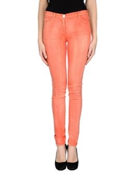 Who S Who Denim Pants Coral