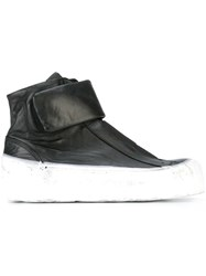 Oxs Rubber Soul Extended Sole Hi Top Sneakers Black