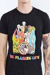 Urban Outfitters The Flaming Lips Tee Black