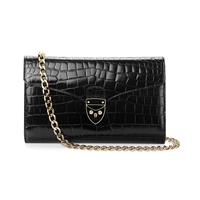Aspinal Of London Manhattan Clutch Bag Black