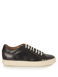 Paul Smith Nastro Striped Back Low Top Leather Trainers