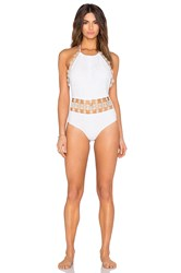 Beach Riot Bianca Swimsuit White