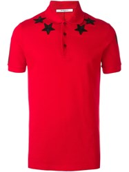 Givenchy Cuban Fit Polo Shirt Red