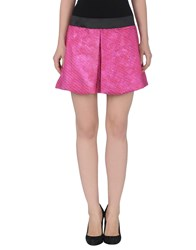 Jo No Fui Skirts Mini Skirts Women Fuchsia