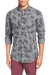 Bonobos Men's 'Fluid' Slim Fit Floral Print Sport Shirt