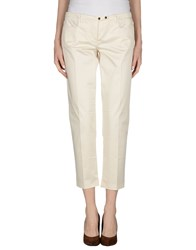 Weber Trousers Casual Trousers Women Ivory