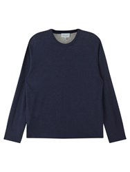 Jigsaw Double Layer Crew Top