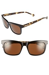 Women's Jonathan Adler 'Acapulco' 57Mm Retro Sunglasses Black