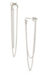 Women's Sole Society Crescent Ear Chains