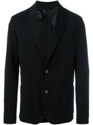 Lanvin Fitted Blazer Black