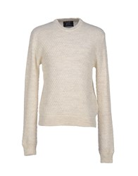 Le Mont St Michel Knitwear Jumpers Men Ivory