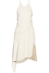 Reed Krakoff Wrap Effect Crepe Dress
