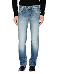 Take Two Denim Denim Trousers Men Blue