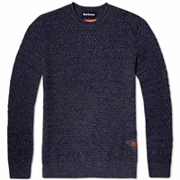 Barbour Copeland Crew Neck Blue