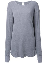 Cityshop Organic Thermal T Shirt Grey