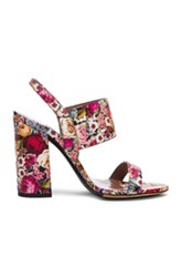 Tabitha Simmons Senna Heel In Floral Red