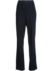 Narciso Rodriguez Wide Leg Trousers Black
