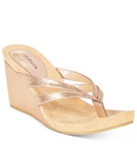 Styleandco. Style Co. Cassiee Wedge Sandals Only At Macy's Women's Shoes Coppertone