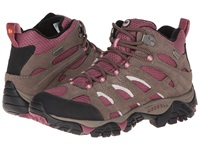Merrell Moab Mid Waterproof Boulder Blush Women's Hiking Boots Purple