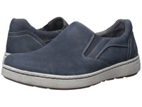 Dansko Viktor Navy Milled Nubuck Men's Slip On Shoes Black