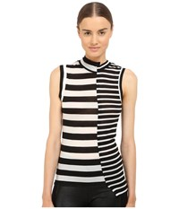 Y's By Yohji Yamamoto Asymmetrical Sleeveless Top Black Women's Sleeveless