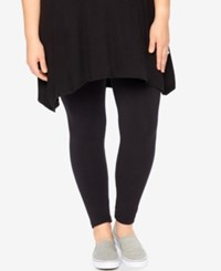 Motherhood Maternity Plus Size Leggings Black