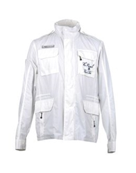The Royal Pine Club Mid Length Jackets White
