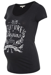 Noppies Essie Print Tshirt Charcoal Anthracite