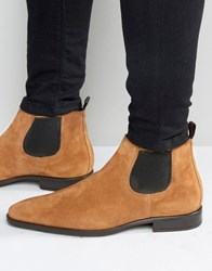 Kg By Kurt Geiger Lawson Suede Chelsea Boots Tan