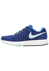 Nike Performance Air Zoom Vomero 11 Neutral Running Shoes Loyal Blue Green Glow Fountain Blue White