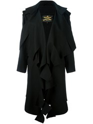 Vivienne Westwood Anglomania Single Breasted Coat Black