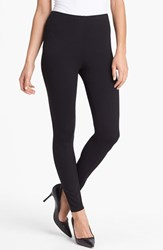 Eileen Fisher Women's Stretch Ankle Leggings Black