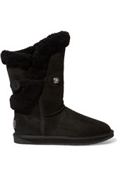 Australia Luxe Collective Nordic Shearling Boots Black