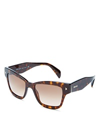 Prada Conceptual Square Cat Eye Sunglasses